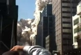 Still frame from: Crystal Morning: September 11th, 2001