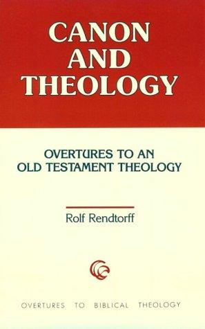 Download Canon and theology