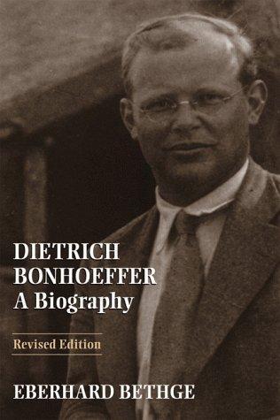 Image for Dietrich Bonhoeffer: A Biography