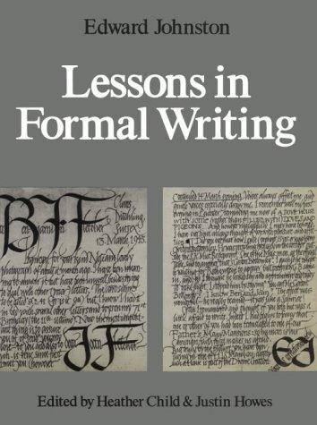 Image for Lessons in Formal Writing