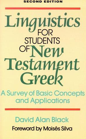 Download Linguistics for students of New Testament Greek