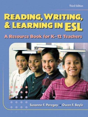 Reading, writing & learning in ESL