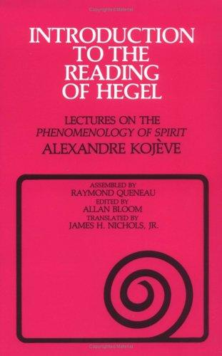 Download Introduction to the reading of Hegel