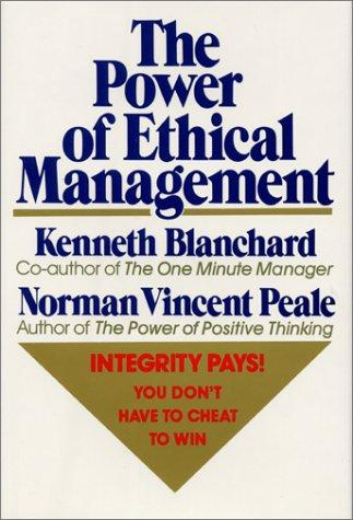 Download The power of ethical management