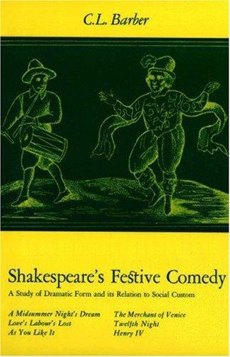 Download Shakespeare's Festive Comedy