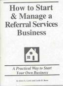 Download How to Start & Manage a Referral Services Business