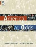 America at odds by Edward Sidlow