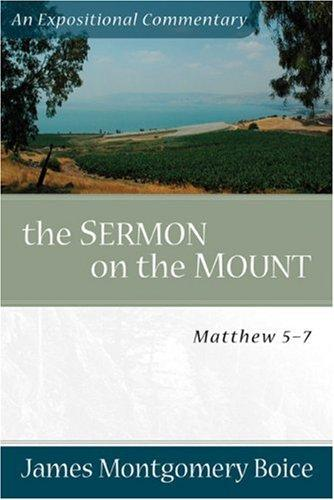 Sermon on the Mount by Boice, James Montgomery