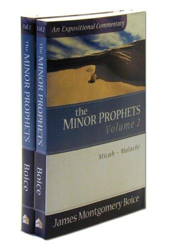 Minor Prophets, 2 volumes by Boice, James Montgomery