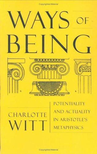 Ways of Being by Charlotte Witt