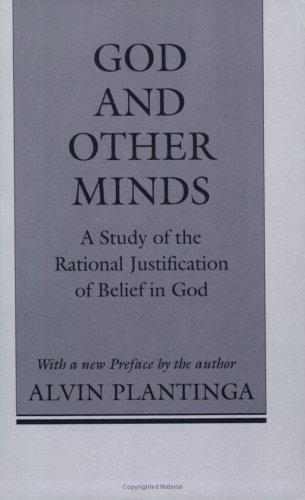 God and other minds by Alvin Plantinga