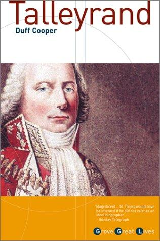 Talleyrand by Duff Cooper, Viscount Norwich