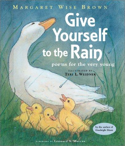 Give yourself to the rain by Margaret Wise Brown