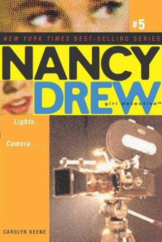 Lights, camera-- by Carolyn Keene